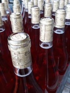 Le bouc et la Treille, mise en bouteilles